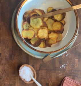 Hvordan laver man chips? Hjemmelavede chips 😍