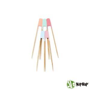 NipNap Pastel (5 stk.) Bestik til chips og snacks