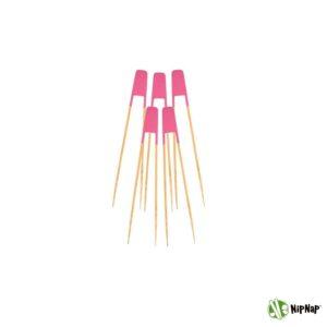 NipNap Pastel Pink (5 stk.) Bestik til chips og snacks