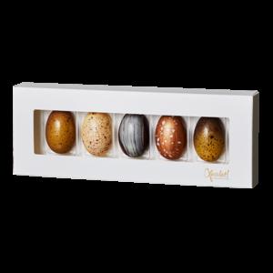 5 Chokoladeæg fra Xocolatl